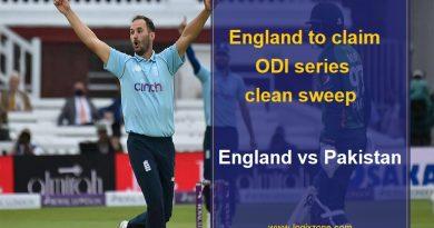 England Vs Pakistan Series