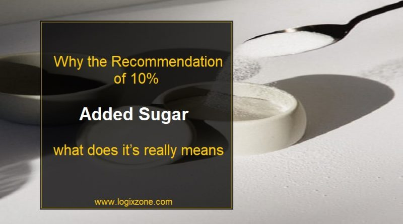 Recommendation of 10% Added Sugar