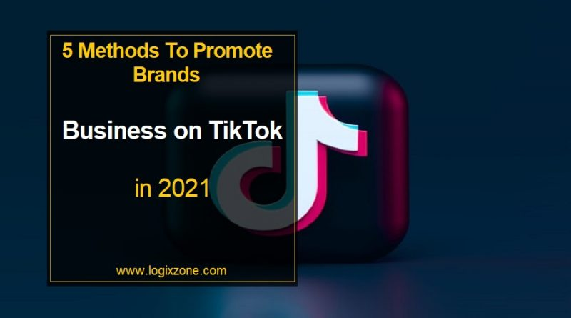 5 Methods To Promote Brands and Business on TikTok in 2021
