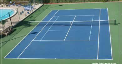 Learn basic steps to build a Tennis Court