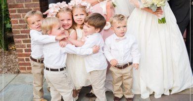 Kids safety at weddings
