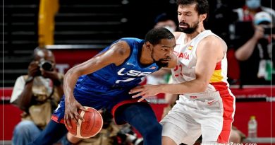 Basketball: Kevin Durant, US beats Spain in the quarterfinals